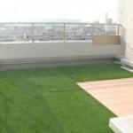 マンションのベランダで使う人工芝