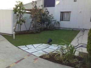 リアル人工芝施工例