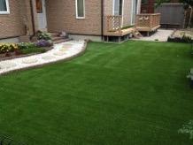 家の人工芝