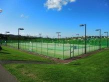 スポーツ施設の人工芝