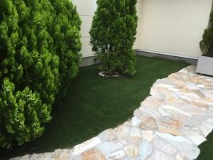 人工芝使用例