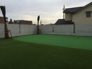 人工芝敷地